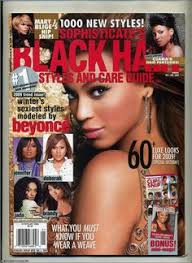 Beyonce On The Cover Of Black Hair