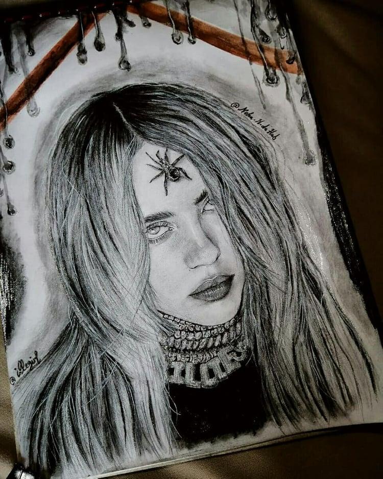 Billie  Eilsh fanarts❤️🌸