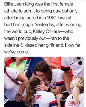 Billie Jean King vs. Kelley O'Hara