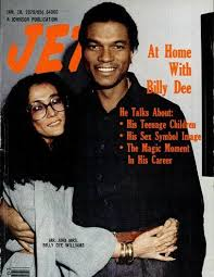 Billy Dee Williams And His Wife On The Cover Of Jet