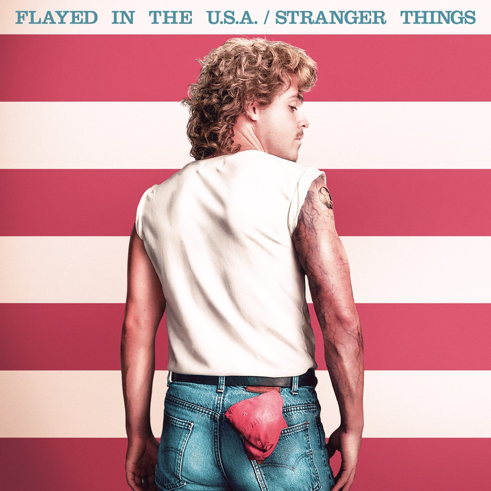 Stranger Things Album Cover: Billy Hargrove's 'Flayed in the USA'