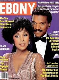 Billy Williams And Diahnn Carroll On The Cover Of Ebony