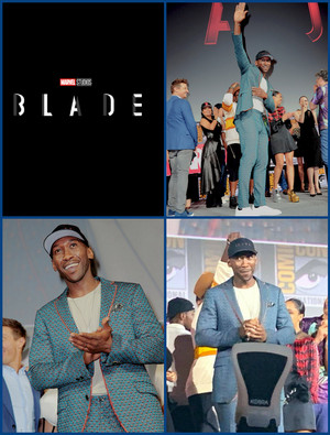 Blade (Mahershala Ali) -2019 Marvel Comic Con