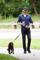 Bobby and Tom Hiddleston in Central Park, New York City (August 21, 2019) - tom-hiddleston photo