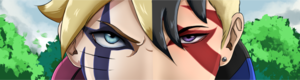 Boruto and kawaki eyes