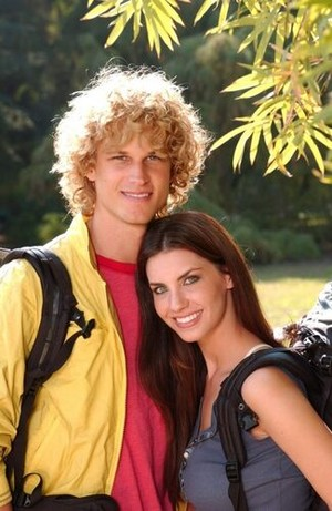 Brandon Davidson and Claudia O'Brian (The Amazing Race 5)