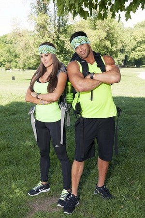 "Brooke Adams and Robert ""Robbie"" Strauss (The Amazing Race 25)"