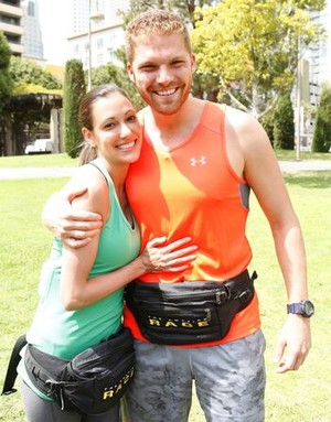 Brooke Camhi and Scott Flanary (The Amazing Race 29)