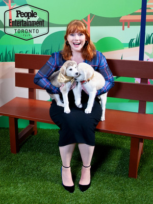 Bryce Dallas Howard - TIFF Puppy Portrait by Entertainment Weekly - 2019