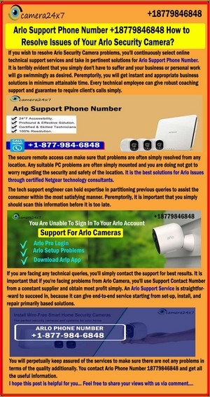 Call Arlo Tech Support 18779846848 to Know the What's new in Arlo Ultra