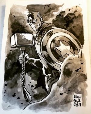 Captain America -The Art Of Francesco Francavilla