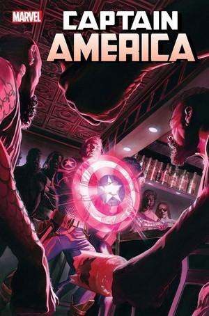 Captain America no. 16 oleh Ta-Nehisi-Coates and Jason Masters. Cover oleh Alex Ross