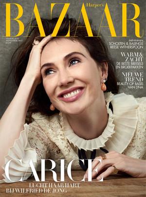 Carice van Houten - Harper's Bazaar NL Cover - 2017