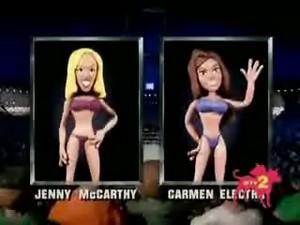 Carmen Electra vs. jenny McCarthy