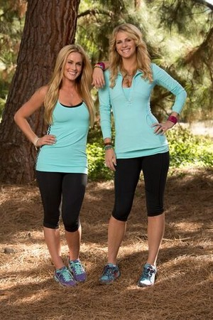 Caroline Cutbirth and Jennifer Wayne (The Amazing Race: All-Stars 2014)