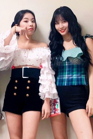 Chaeyoung and Momo