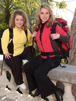 Charla Baklayan and Mirna Hindoyan (The Amazing Race 5)