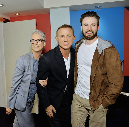Chris Evans, Jamie Lee Curtis and Daniel Craig Toronto International Film Festival