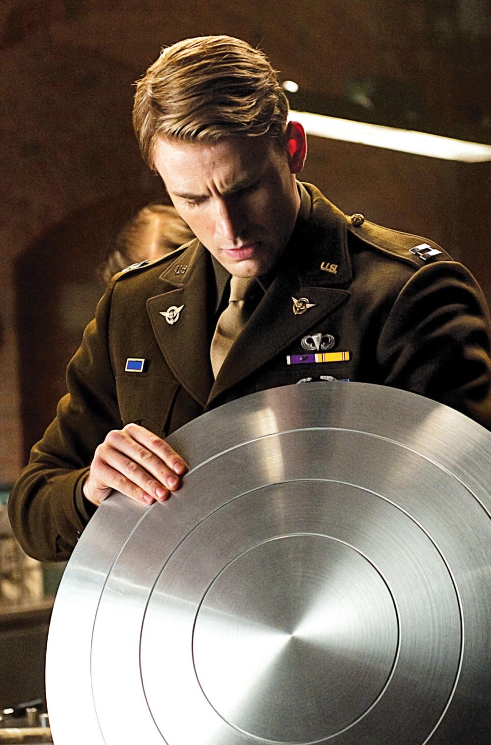 Chris Evans Marvel movie stills Captain America: The First Avenger (2011)
