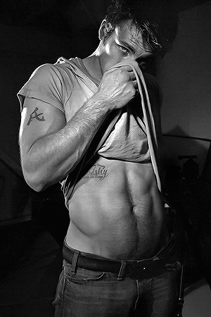 Chris Evans for Flaunt Magazine (2004) by Tony Duran
