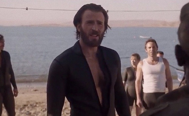 Chris Evans in 'The Red Sea Diving Resort' -July 31, 2019