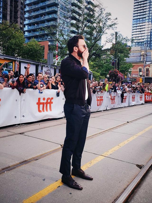 Chris at the Knives Out Premiere, 2019 Toronto International Film Festival (September 07, 2019)