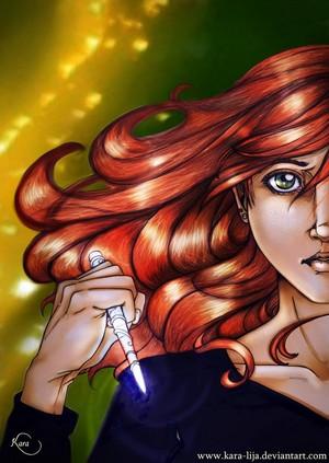 Clary Fray Drawing - Mene Mene Tekel Upharsin