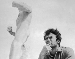 Clint Eastwood in Rome, Italy (1960s)