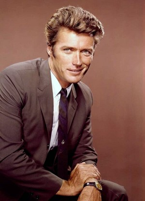 Clint Eastwood studio portrait -early 60s