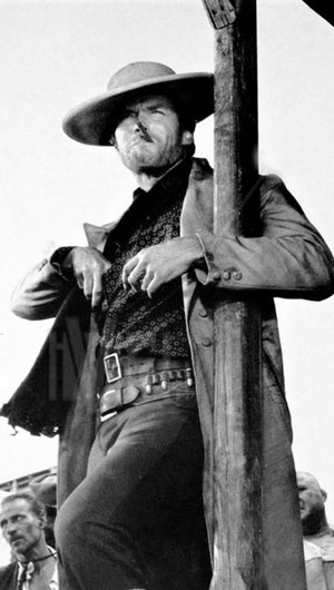 Clint in The Good The Bad and The Ugly