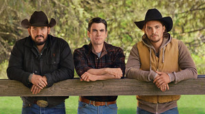 Cole Hauser, Wes Bentley and Luke Grimes - Cowboys and Indians Photoshoot - 2019