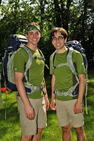 Connor Diemand-Yauman and Jonathan Schwartz (The Amazing Race 17)