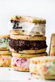 Cookie Ice Cream Sandwiches - dessert photo