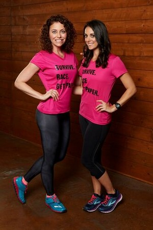 Corinne Kaplan and Eliza Orlins (The Amazing Race 31)