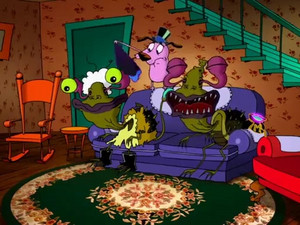 Courage The Cowardly Dog  Mondo Magic 13191