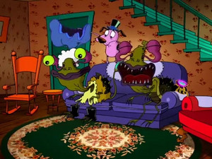 Courage The Cowardly Dog  Mondo Magic 13201