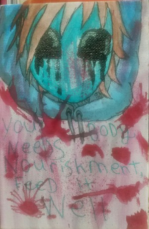 Creepy Motivation Eyeless Jack Says