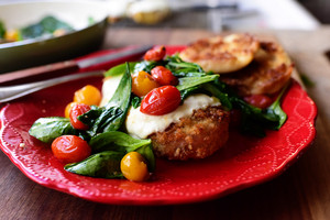 Crispy Chicken Florentine Melt