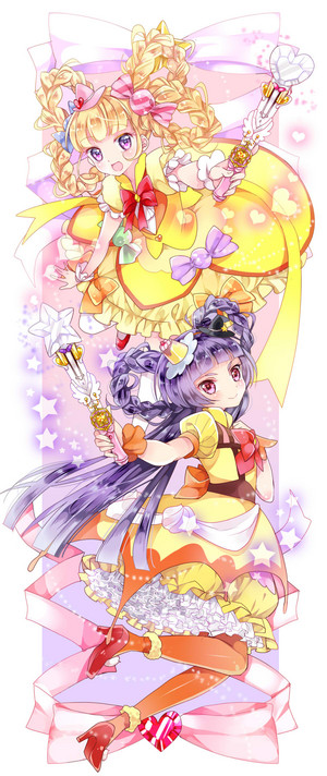 Cure Miracle and Cure Magical