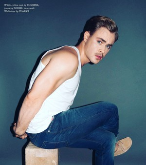 Dacre Montgomery - GQ Photoshoot - 2017