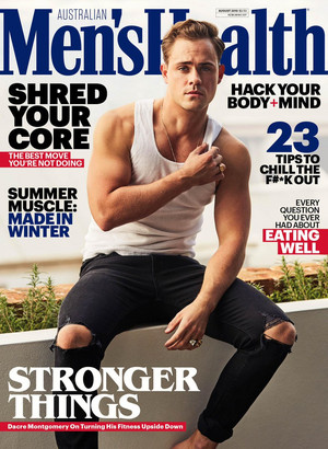 Dacre Montgomery - Men's Health Australia Cover - 2019