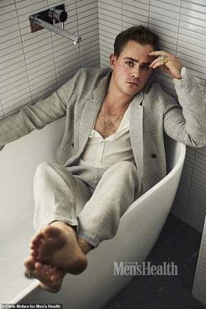 Dacre Montgomery - Men's Health Australia Photoshoot - 2019