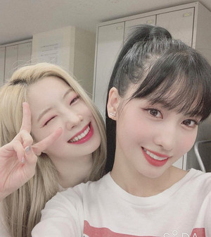 Dahyun and Momo