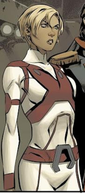 Dana Sterling (C) on titan comics