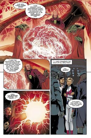 Dana Sterling (F) on titan comics