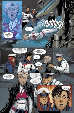 Dana Sterling (G) on titan comics