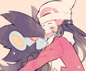 Dawn and Luxray