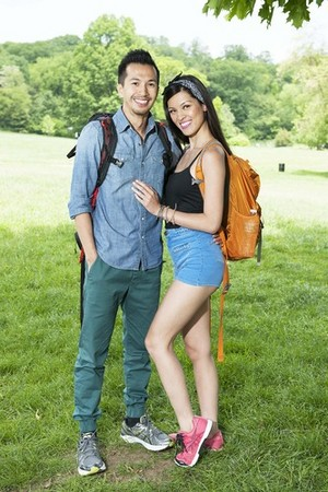 Dennis час and Isabelle Du (The Amazing Race 25)