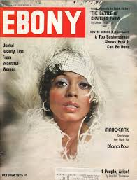 Diana Ross On The Cover Of Ebony