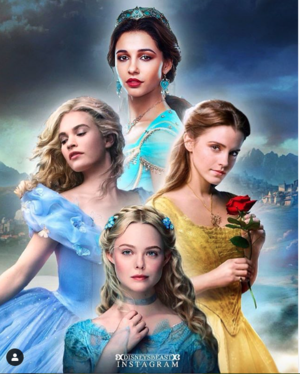 Дисней Live Action Princesses